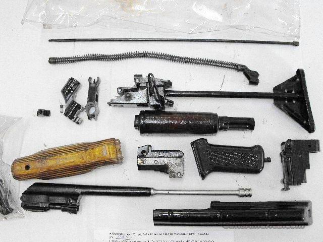 AK47 Parts Kit Maadi Egypt Excellent Complete except No Barrel No Receiver  made on Russian Milling Equipment