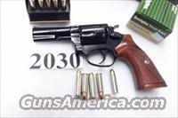 Rossi .38 Special model 351 Blue Steel 3 inch 5 Shot Full Lug Heavy Barrel Excellent in Box Factory Demo Walnut Grips Discontinued 38 spl S&W 36-10 Classic Stand In R35103U