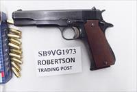 Star 9mm model B Super Spanish Army 1973 Very Good 5 inch Blue Colt Government Size 9 Shot 1 Magazine Super B