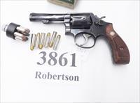 Smith & Wesson .38 Special Model 10-5 Blue 4 inch Heavy Pinned Barrel 1972 Round Butt Special Order Australian Police