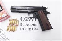 Colt .38 Super 5 inch Blue Government Model 10 shot NIB 2 Magazines O2991