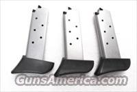 Lots of 3 Colt Factory 7 Shot Magazine .380 Mustang Stainless Finger Rest Sig P238 380 Automatic XMSPC556921 3x$33
