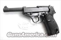 Walther 9mm P38 Lightweight Military 1962 P-38 German Federal Border Guard BGS CA C&R OK with 1 Factory 8 Shot Magazine