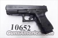 Glock .40 S&W model 23 Night Sights 3rd Generation Rail 14 Shot 1 Magazine 40 Smith & Wesson caliber mfg 1999