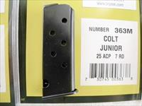 Colt Junior Astra Cub .25 ACP 7 shot Magazine Triple K 363M 25 Automatic Jr