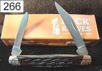 Buck 309BB Companion US Made 2 Blade Pen Knife Brown Bone Mint PK266