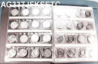 Kennedy Half Dollar Set 1964-1994 Lacks Only 94-S 90% Incl. Proofs AU-BU AG337
