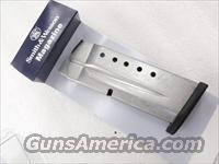 Smith & Wesson M&P 9 Shield 9mm Factory 7 Shot Magazines Stainless XM19935 MP9 Flush Fit Flat Plate
