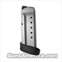 Smith & Wesson M&P Shield .40 S&W Factory 7 round Magazines Stainless 19934 MP40 Extension Plate Buy 3 Ships Free!