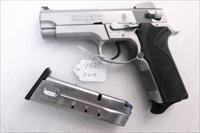 S&W .40 model 4006 Adjustable Sights Stainless California Parks Dept VG-Exc 2 Magazines Bobbed Hammer Traditional Double Action 40 Smith & Wesson Caliber