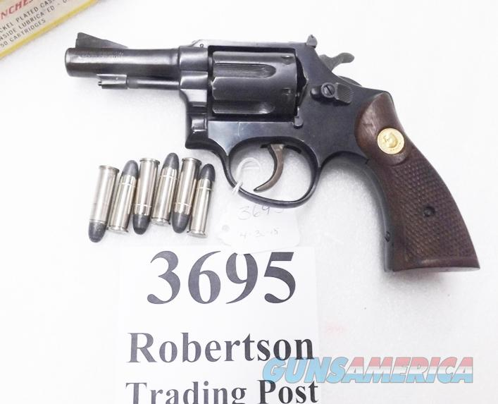 Taurus  38 Special Model 84 type Spesco Falcon 3 inch Blue Pencil Barrel 38  Spl 6 Shot Steel Frame 1970s Adjustable Sights