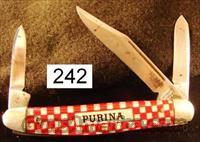 Knife: Kutmaster Purina Advertiser Stockman Exc 1960s