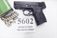 Smith & Wesson 9mm M&P9C Compact Glock 19 Size 12 + 1 Melonite Stainless 3 Dot MP9C Exc in Box 2 Magazines S&W 206304 Ammo Spiff and Magazine Offer