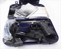 Beretta 9mm model 92A1 92FS Rail F series 2014 Exc Box Papers 2 Mags 18 shot J9A9F10