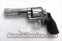 S&W .357 Magnum model 681 Stainless 4 inch CAI Stamped ca 1986 mfg No Suffix No M Satin Stainless Hammer & Trigger 357 Distinguished Service Magnum Aussie