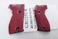 Sig P6 P225 Grips with 4 Washers 34221380 VG German Police Red P6PT 3 Lots ship Free!