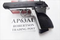 FEG PA63 or AP63 .32 ACP 9 Shot VG Aluma Slide Refinish 1980s  with 1 modified Walther PP Magazine Alloy Frame Walther PP copy Hungary