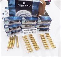 Ammo: .30-06 Federal Power Shok 150 grain Soft Point 3006 Springfield SP  3006A Ammunition Cartridges