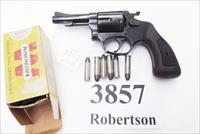 Rossi .38 Special model 68 Blue 3 inch 5 Shot Grips 38 Smith & Wesson Special Caliber 36 Chief's Special Copy Interarms 1980s Non +P