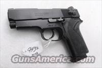 Smith & Wesson .45 ACP model 457 Compact Lightweight 3 3/4 inch Black Ice Teflon Slide 3 Safeties Syracuse NY PD 1996 First Year of Production VG