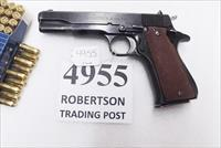 Star 9mm model B Super Spanish Army 1972 Very Good 5 inch Blue 9 Shot 1 Magazine Super B Colt Government Size