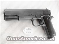 Colt .45 ACP 1911A1 GI Frame 1944 with 1960s Commercial Slide Full Parkerized VG