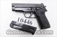 Sig .40 S&W Model P-229 Black Stainless 13 Shot 2 Magazines Excellent ca 2002 Beverly MA Police Dept Sig Sauer Arms E29R40BU