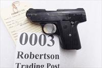 Davis Industries .380 ACP Model P380 Auto 1994 Production with 2006 Tennessee Confiscation Tag Cobra CA380 Ancestor