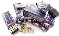 Ammo: .357 Magnum Fiocchi 250 Round Lots of 5 Boxes $19.80 per 50 round box 142 grain Hornady TMJ FMC Total Full Metal Case Jacket 357 Mag Ammunition Cartridges AM357Fcc