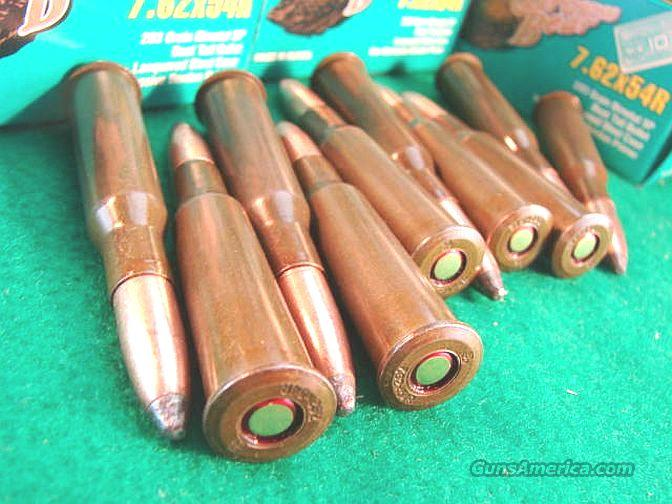 Ammo: 7.62x54R Russian 200 Round Lot of 10 Boxe for sale