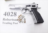 Israeli Bul 9mm Storm CZ75 Clone Mishteret Hard Chrome ca. 1999 uses CZ Magazines