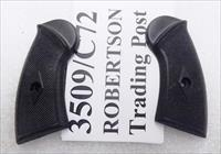 Clerke 1st First Serrafile Terrier Revolver Grips Triple K Black Poly Replacement Screw Not Included No Screw 3509/C72