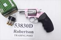 Charter Arms .38 Special Pink Lady variant Undercover Lite Stainless 2 inch 5 Shot Snub Excellent Factory Demo Box & Papers 53830