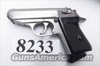 Walther .380 PPK Stainless 7 Shot Excellent in Box 2 New Mec-Gar Magazines 380 Automatic VAH38002 S&W Stamped