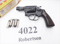 Rossi .38 Special model 68S Blue 2 1/8 inch Snub 5 Shot Walnut Magna Grips 38 Smith & Wesson Special Caliber 36 Chief's Special Copy Interarms 1990