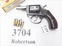 Iver Johnson .32 S&W Long model 55 SA 2 1/2 inch Snub 5 Shot Double Action Hammer Side Loader 1962 Production C&R CA OK