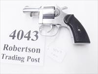 Clerke .32 S&W Revolver Clerke First 2 1/2 inch Nickel Pot Metal 32 Smith & Wesson Short Caliber 5 Shot 1973 Production