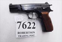 CZ75 Clone Tanfoglio 9mm Witness Israeli Cohai Combat 5 in Blue Walnut 16 Round 1987 Production VG Uses CZ Magazines