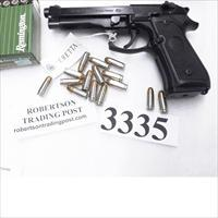 Beretta 9mm M9 Commercial Limited Edition 16 Shot 2 Magazines 92FS Mate Unfired in Box J92M9AOM