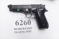 Beretta 9mm model 92S Italy Military Police Italian Carabinieri VG JS92F300M type / ancestor c1978 w1 15 round Magazine Factory Brunitron Frame Oxide Slide Blue Chrome Lined Barrel VROBC