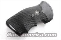 Grips S&W K or L Frame Square Butt Pachmayr Gripper Used Good Condition Modified