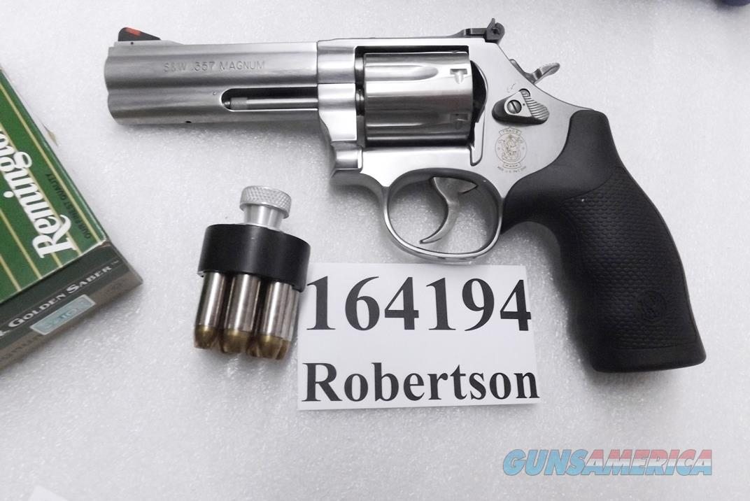S&W .357 Magnum 686-6 Plus Stainless 4 inch Ful... for sale
