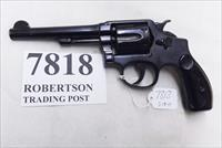 Smith & Wesson .38 Special 1908 Production .38 Military & Police Model of 1905 2nd Change 5 inch Reblue with Residuals S&W Hand Ejector Pre Model 10