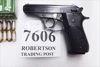 Bersa .380 ACP model 85 Rubber Grips 14 Shot Beretta 84 type Double Action 1993 Production No Lock Israeli