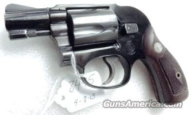 Smith & Wesson  38 Special Airweight Bodyguard Pre Model 38 1956 Excellent  Flat Latch Diamond Grips 38 Spl 2 inch Snub Black on 3, Possibly Unfired
