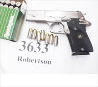 Star .45 ACP model PD Lightweight Officer's ACP Size 3 3/4 inch Starvel Nickel 1989 Production Interarms Import Very Good 7 Shot Garcia Pre-Interarms 45 Automatic