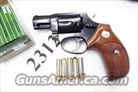 Taurus .38 Special +P Model 85 No Lock Blue Steel Snub with Walnut Combat Grips Smith & Wesson Model 36 Chief's Special copy Snub Nose 38 Spl 2 inch 21 oz Excellent in Box Factory Demo 2850021