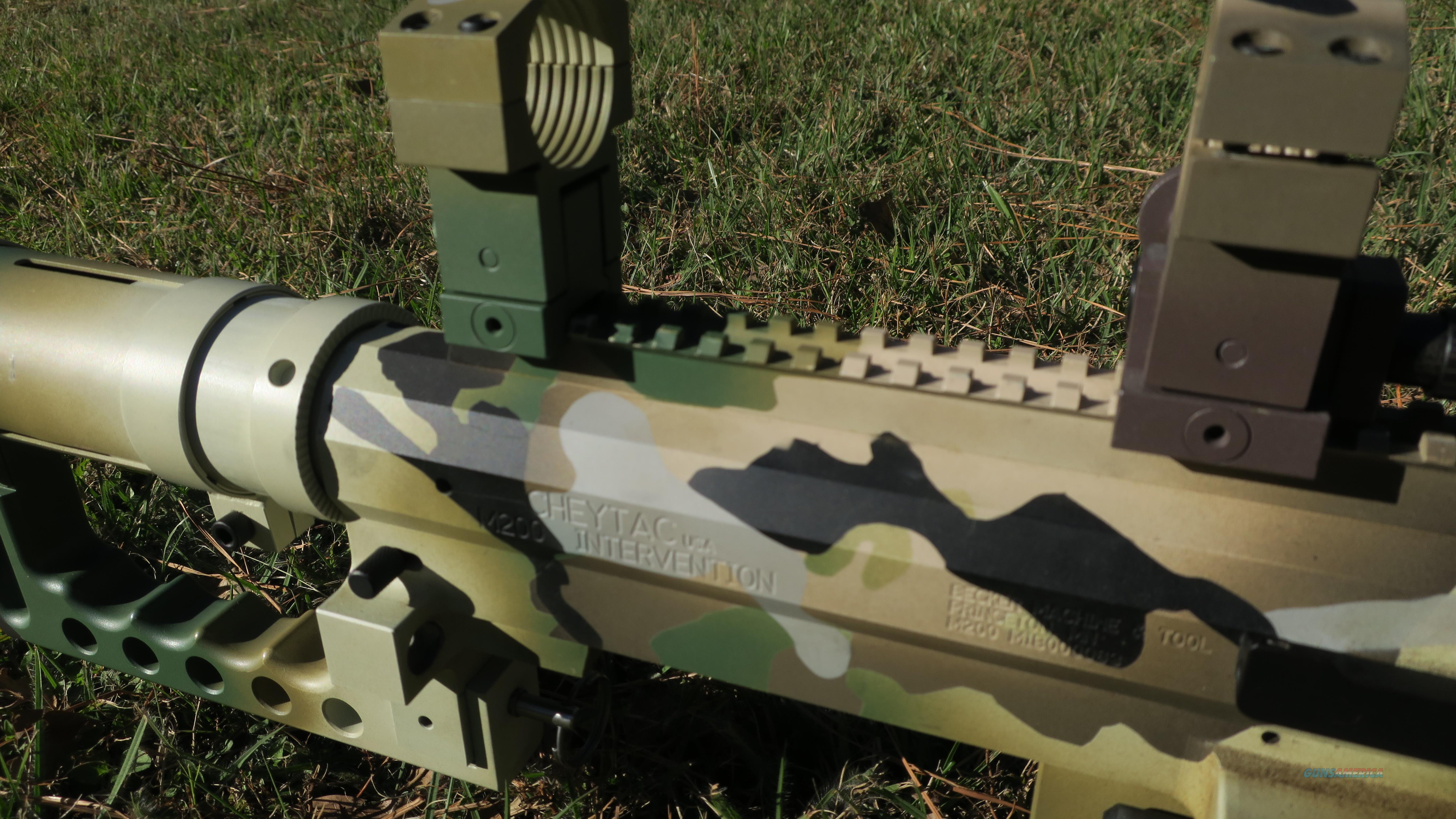 Cheytac M200 Intervention 375 Cheytac Sniper Rifle