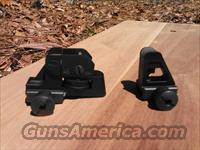 LMT new front and rear sight set for AR15/AR10