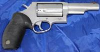 "Taurus Judge 4"" barrel .45long colt/ .410 2.5"""